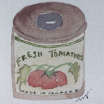 Canned Tomatoes by Judith Grundke-Sanvicente